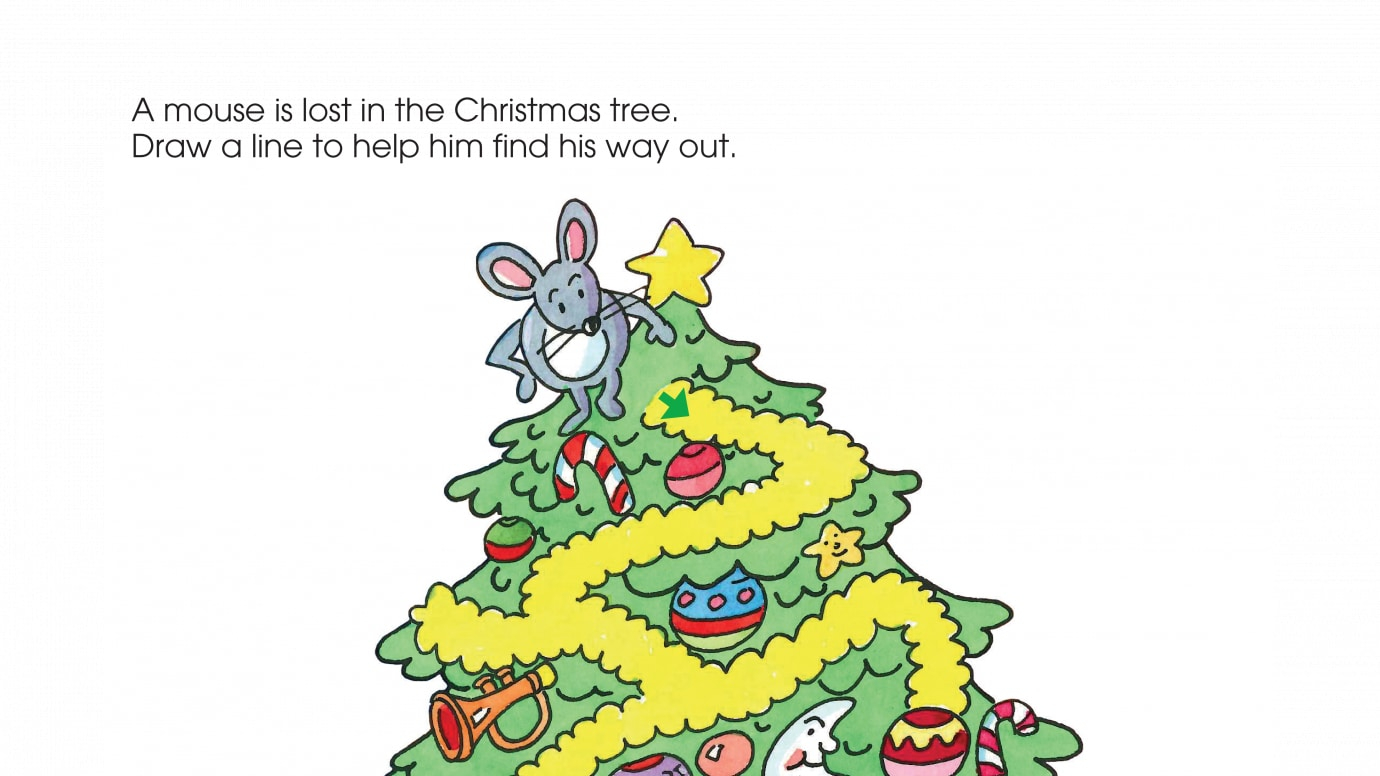 photo regarding Christmas Maze Printable referred to as Family vacation A Mouses Xmas Maze Printable Functions