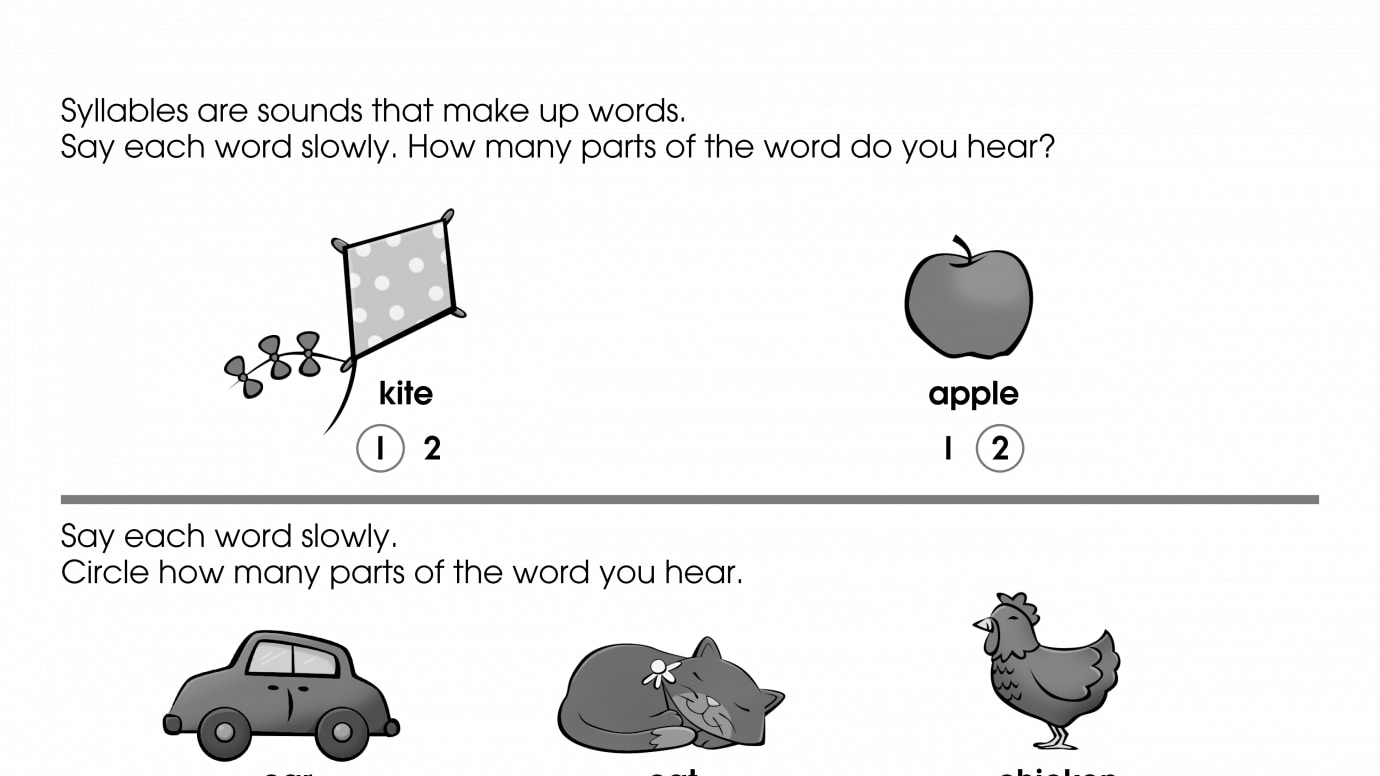 Learning to Hear Syllables