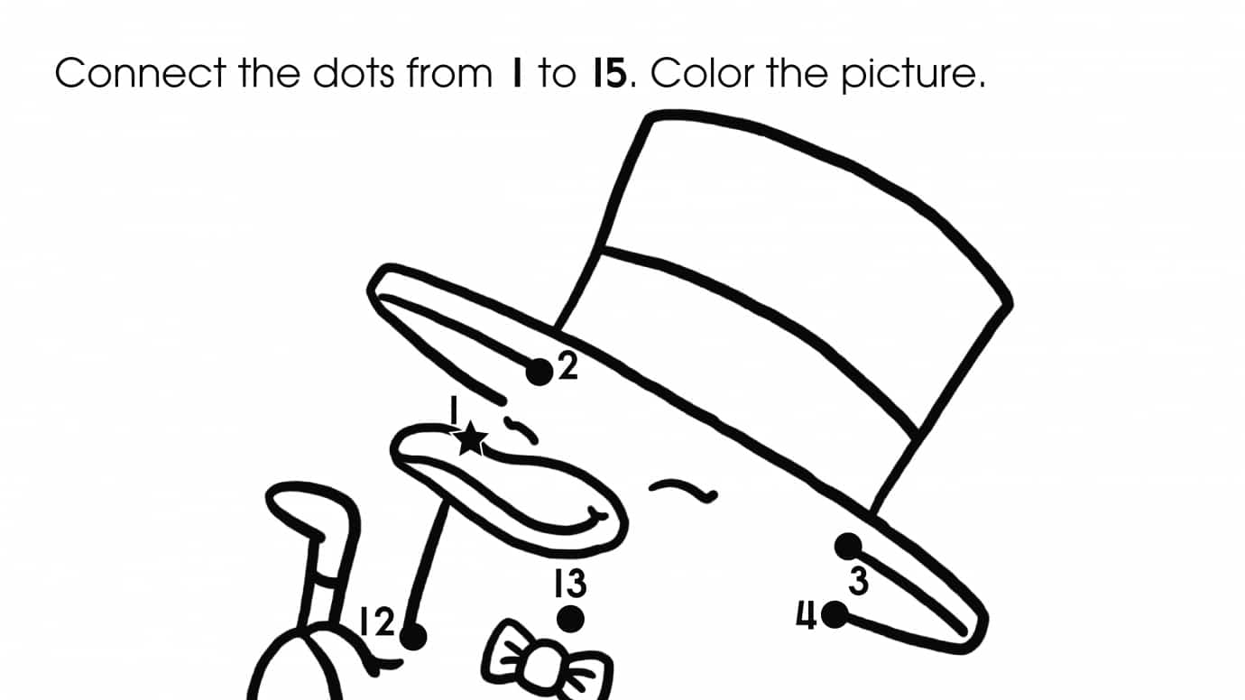 Dot-To-Dots 1-15 Penguin