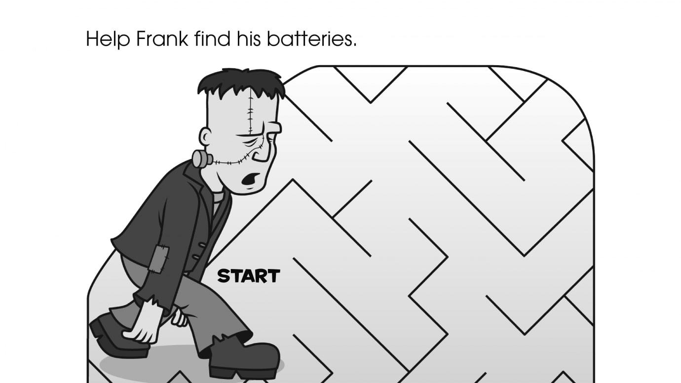 Frank Monster Maze