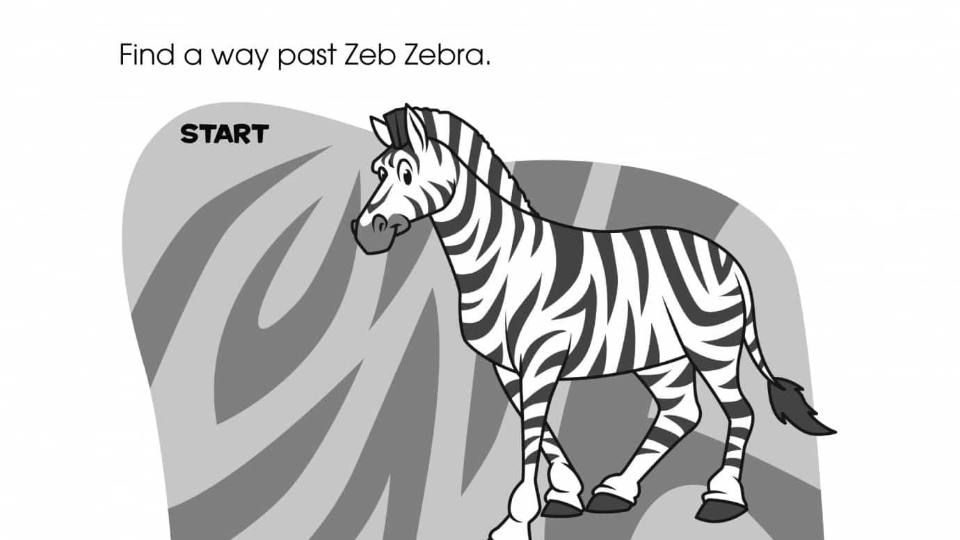 Zeb Zebra Maze