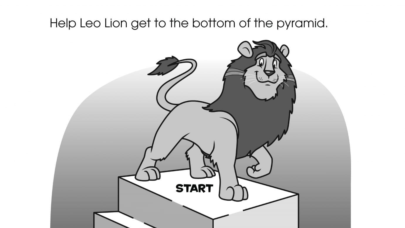 Leo Lion Maze