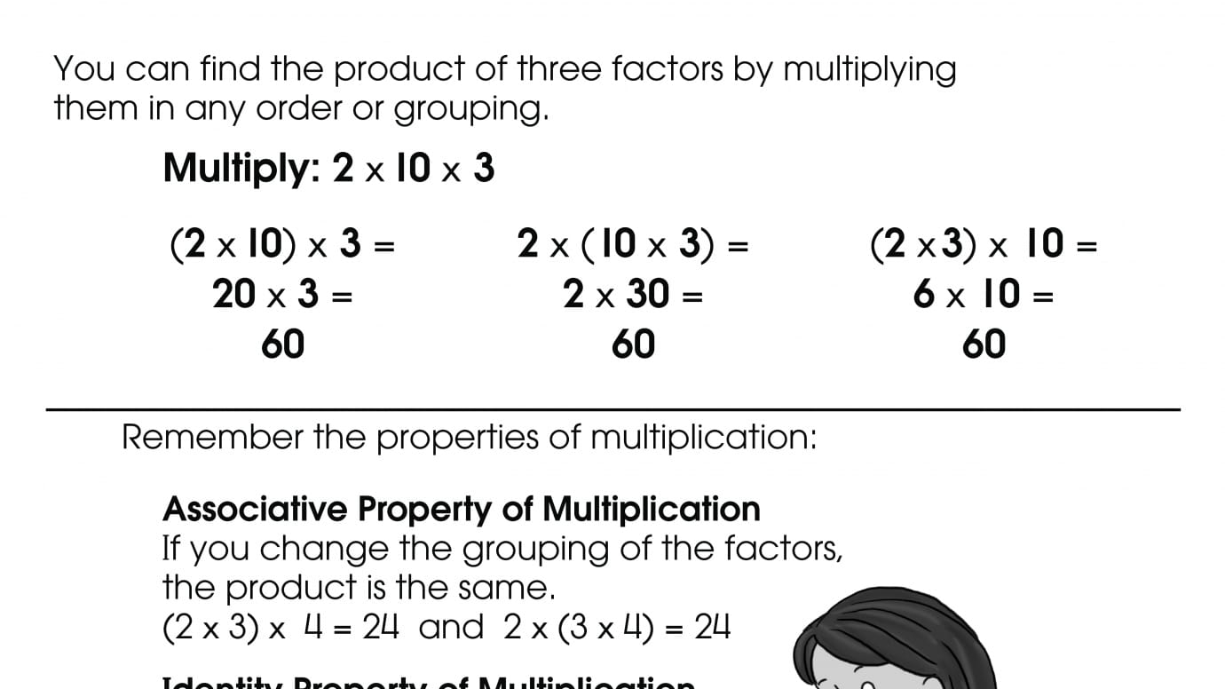 Multiplying Three Factors | Printable Activities | Anywhere ...