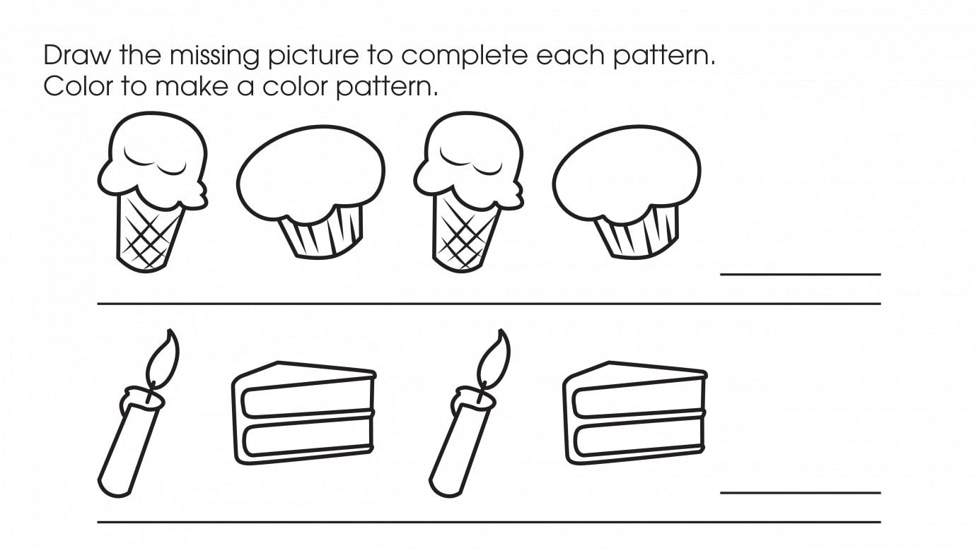 Drawing & Coloring Patterns 1
