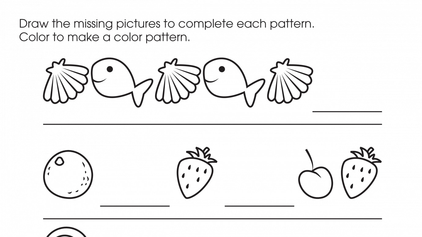 Drawing & Coloring Patterns 2
