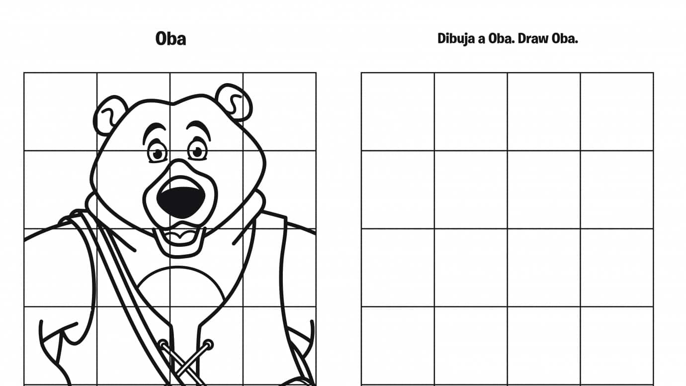 Spanish & English Draw Oba Grid