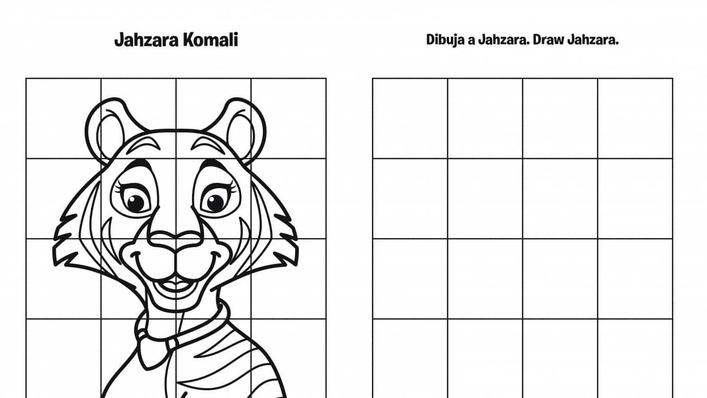 Spanish & English Draw Jaz Grid