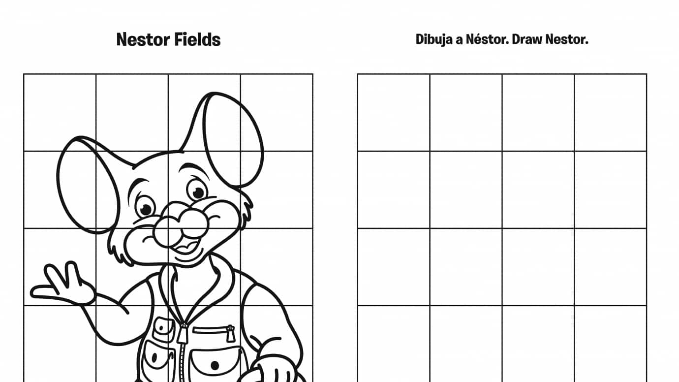 Spanish & English Draw Nestor Grid