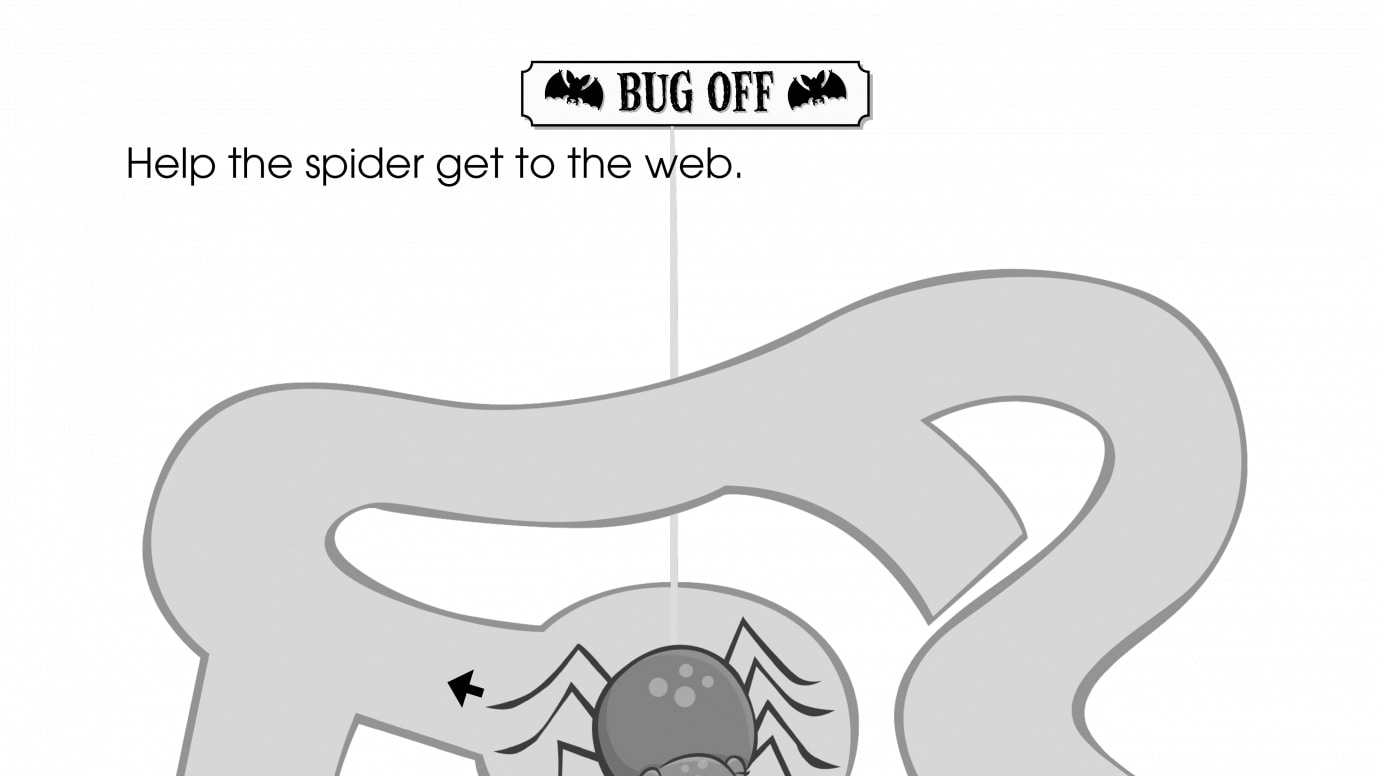 halloween spider web maze | printable activities | anywhere teacher