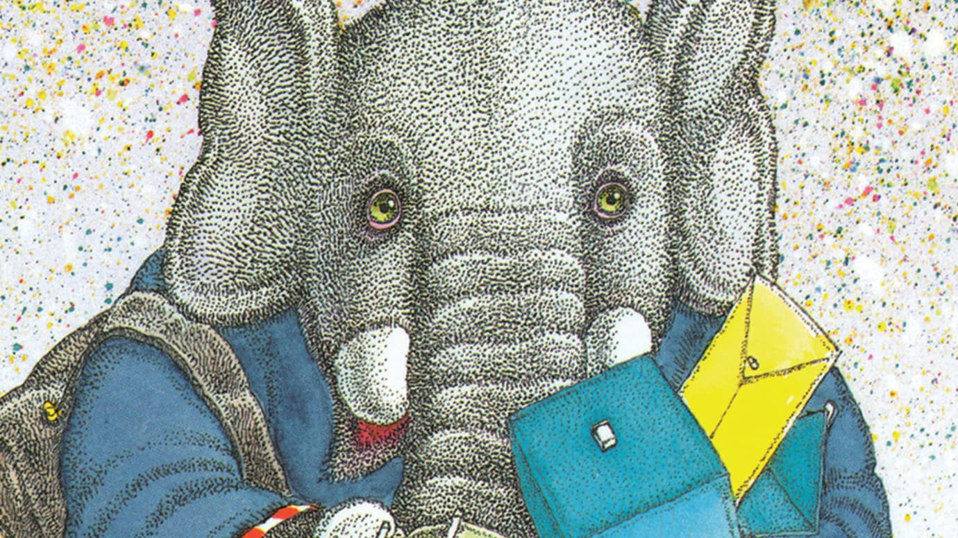 Elephant and Envelope
