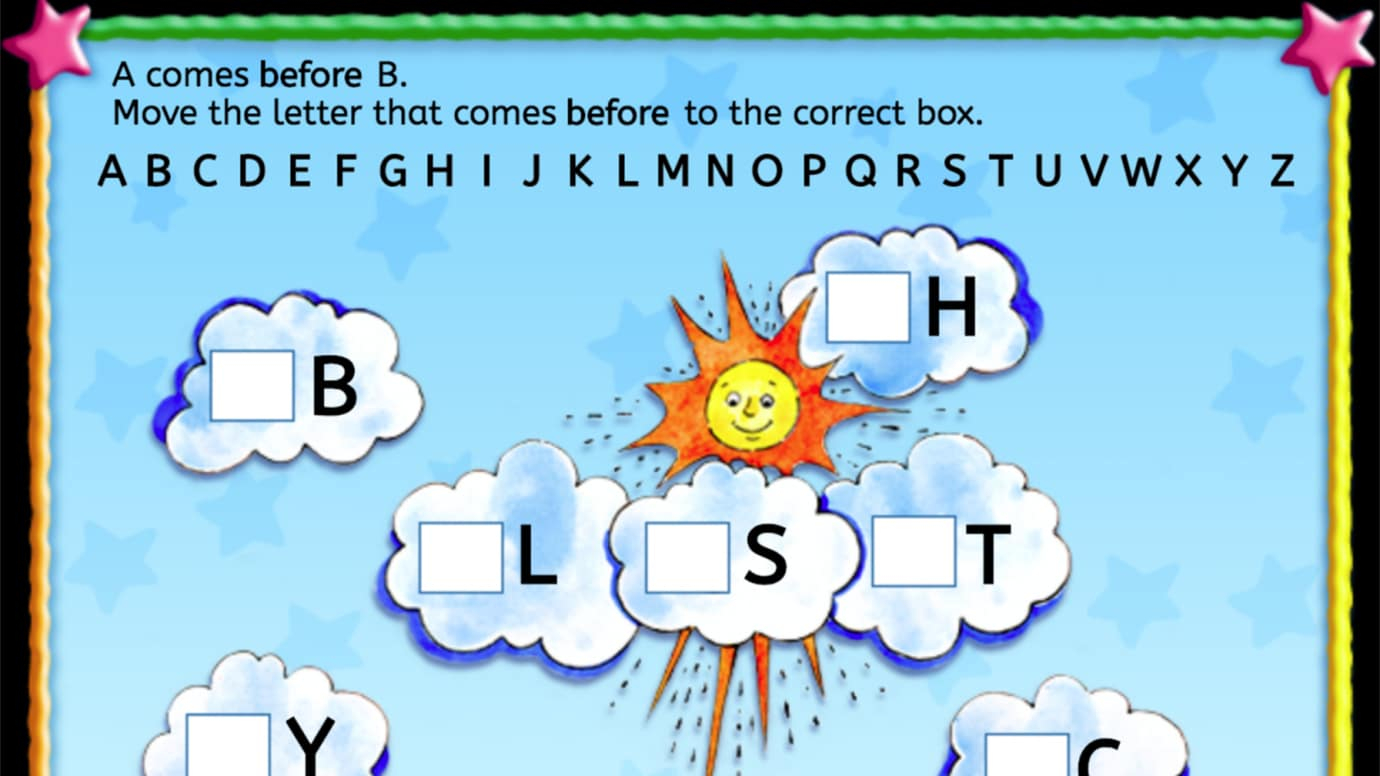 Add the Letter that Goes Before: Uppercase Letter Sequencing