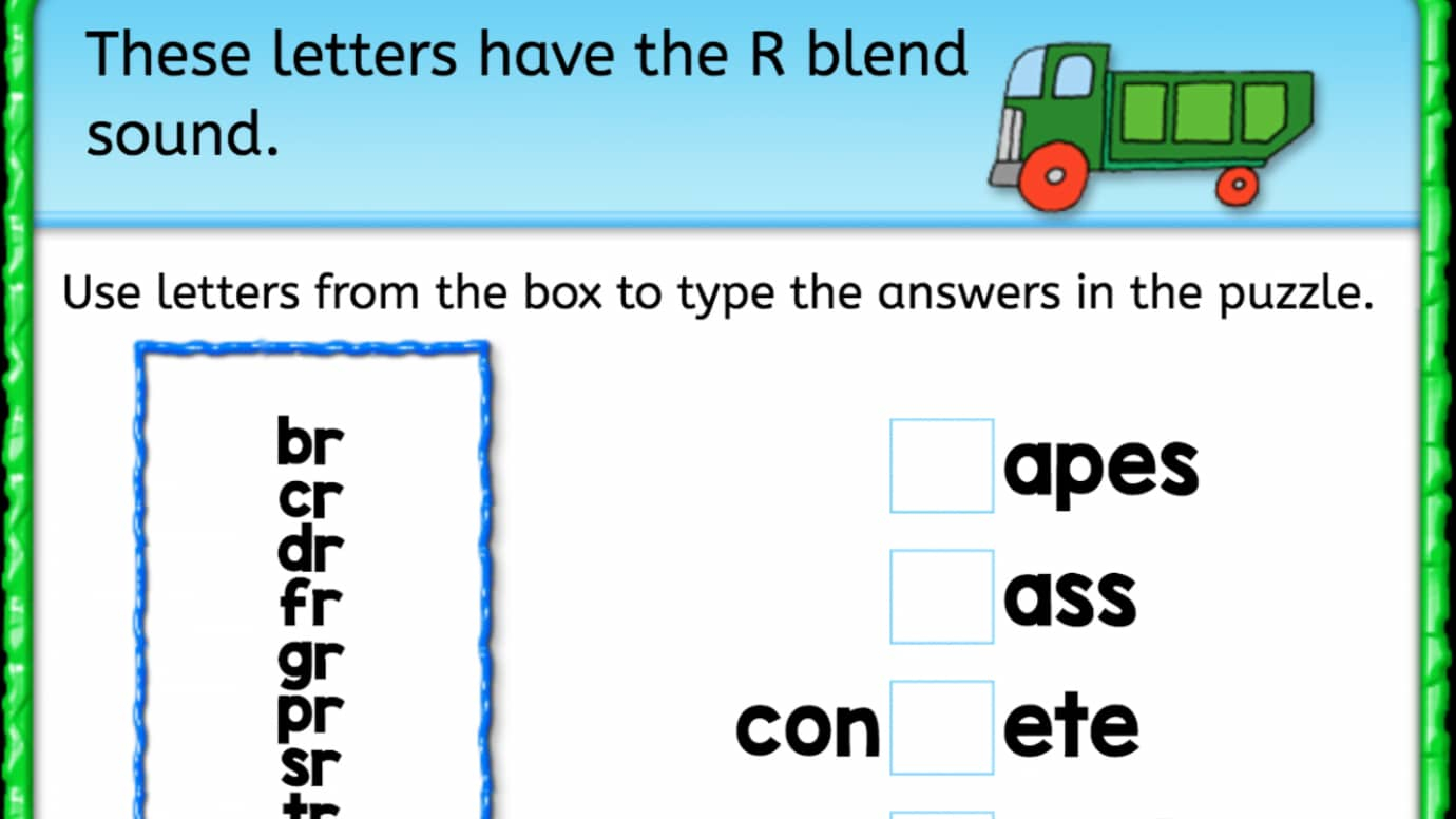 Worksheets R Blends Worksheets finish the word r blend interactive worksheets anywhere teacher blend