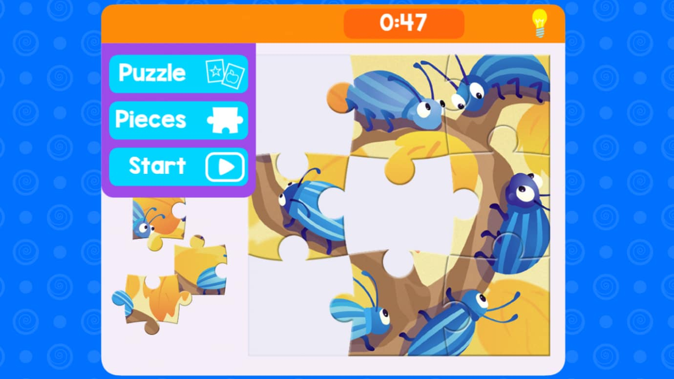 Jigsaw Jumble Jr. Animals