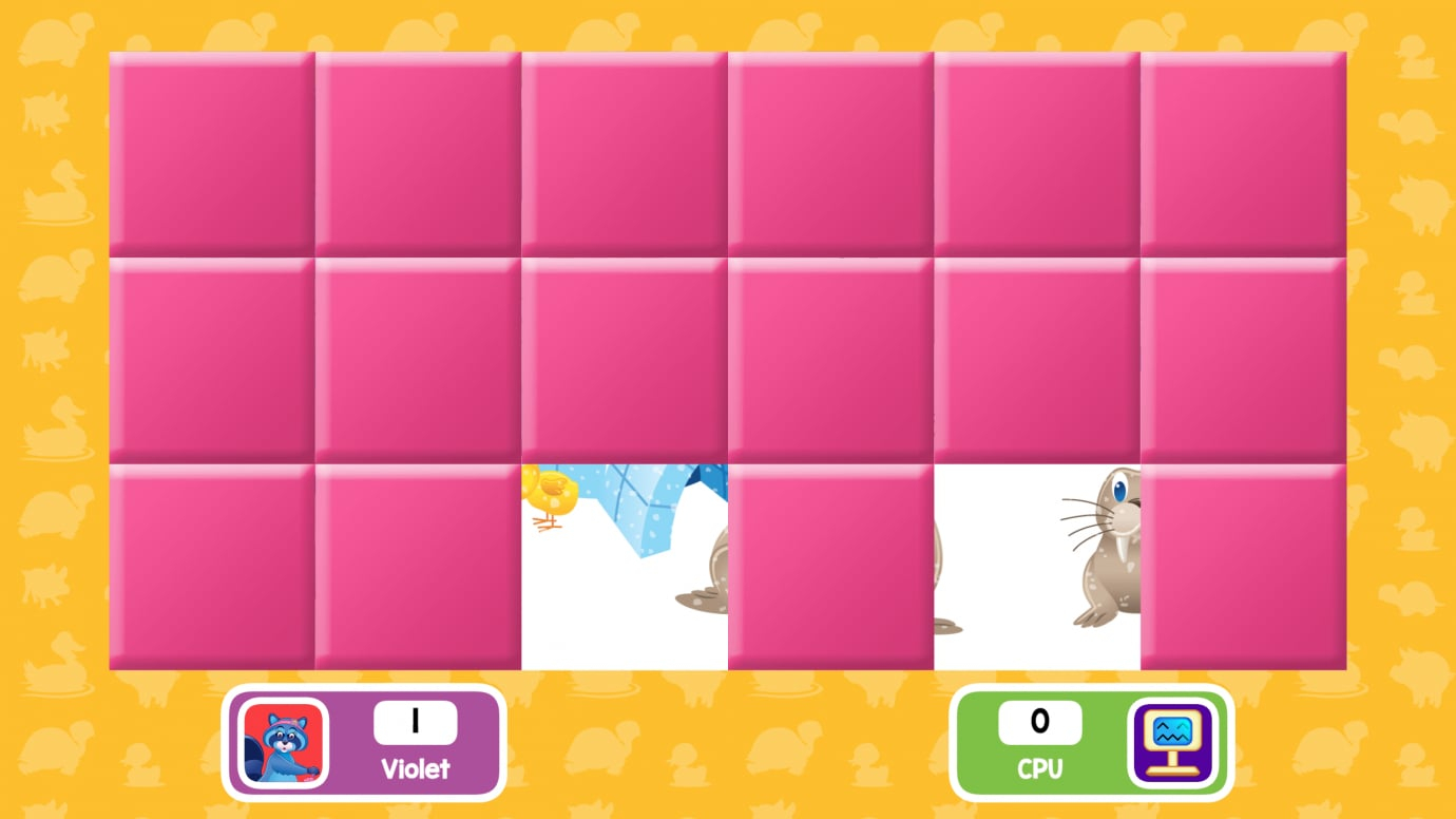 Memory Match Jr. Baby Animals