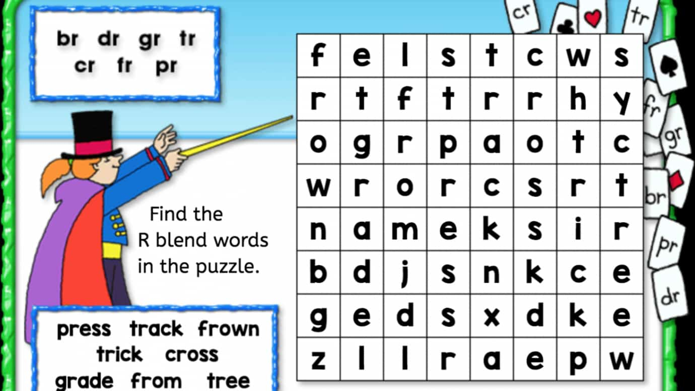R Blends Worksheets and Activities No Prep Pack | Consonant blends ...
