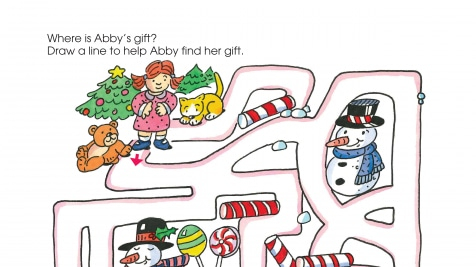 Holiday Abby's Gift Maze