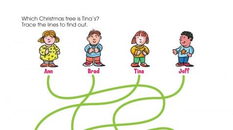 Holiday Mystery Tree Spaghetti Maze