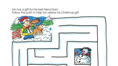 Holiday Gift Exchange Maze