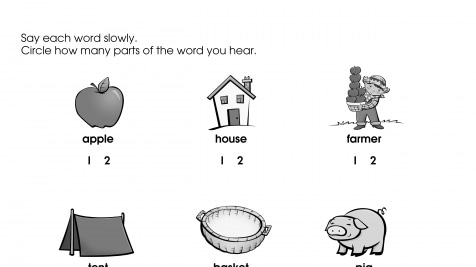 Practice Hearing Syllables
