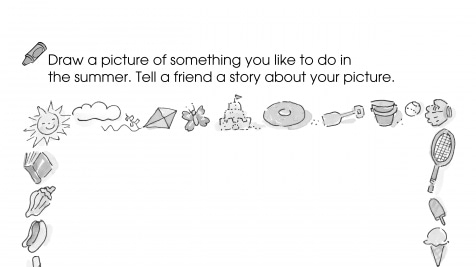 Draw a Picture Tell a Story Summer