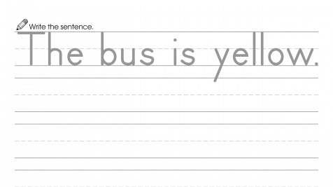 Writing a Sentence about Yellow