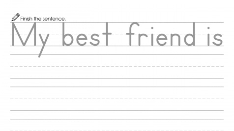 Finish the Sentence: My Best Friend is