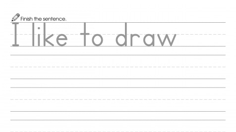 Finish the Sentence: I Like to Draw