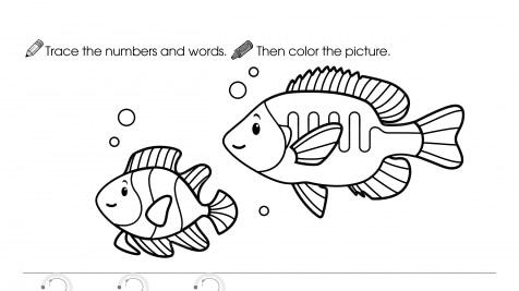 Trace, Write & Color 2