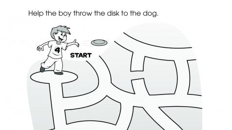 Boy & Dog Maze