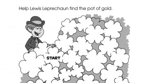 Lewis Leprechaun Maze