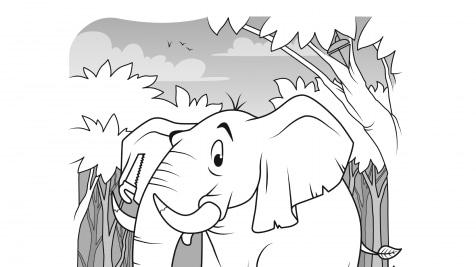 Hidden Pictures Elephant