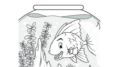 Hidden Pictures Goldfish