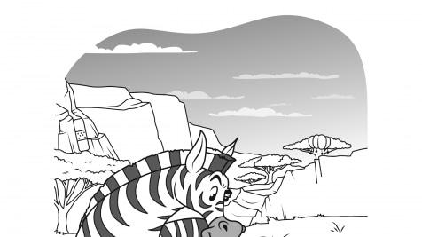 Hidden Pictures Zebra Antics