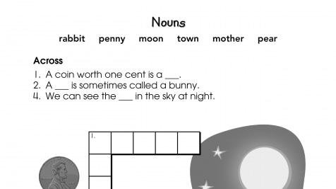 Crossword Puzzle Nouns