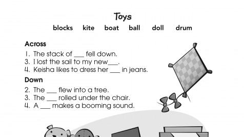 Crossword Puzzle Toys