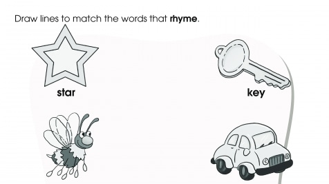 Rhyming Three-Letter Words