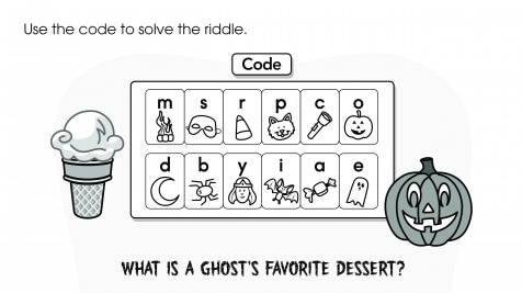 Use the Code to Solve the Riddle: Halloween