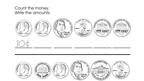 Counting Pennies, Nickels, & Dimes