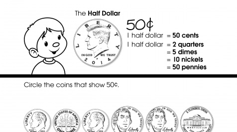 Counting 50¢