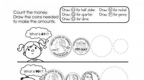 Counting Money & Drawing Coins