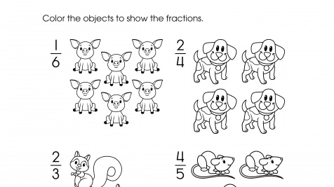 Color to Show Fractions