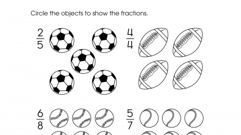 Circle Groups to Show Fractions