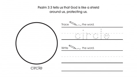 Inspirational Trace, Write & Draw Circles