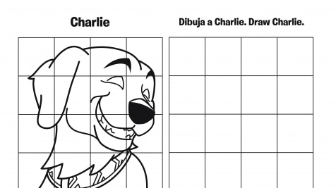 Spanish & English Draw Charlie Grid