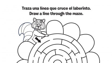 Spanish & English Violet's Maze