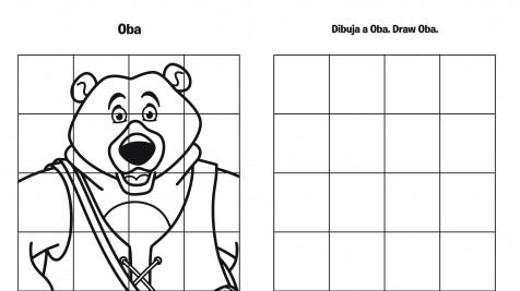 Spanish & English Draw Oba Grid