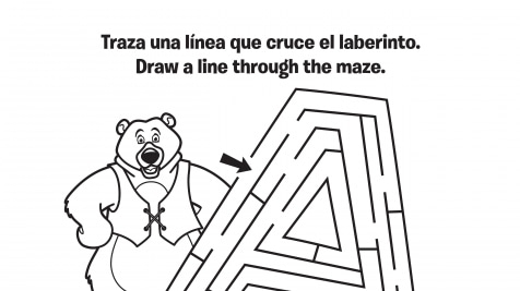 Spanish & English Oba's Maze