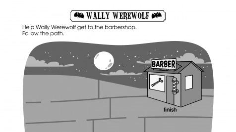 Halloween Wally Werewolf Maze