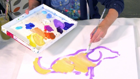 Nestor's Lesson at the Art Studio
