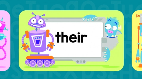 Beastiebots Sight Words Flash Cards